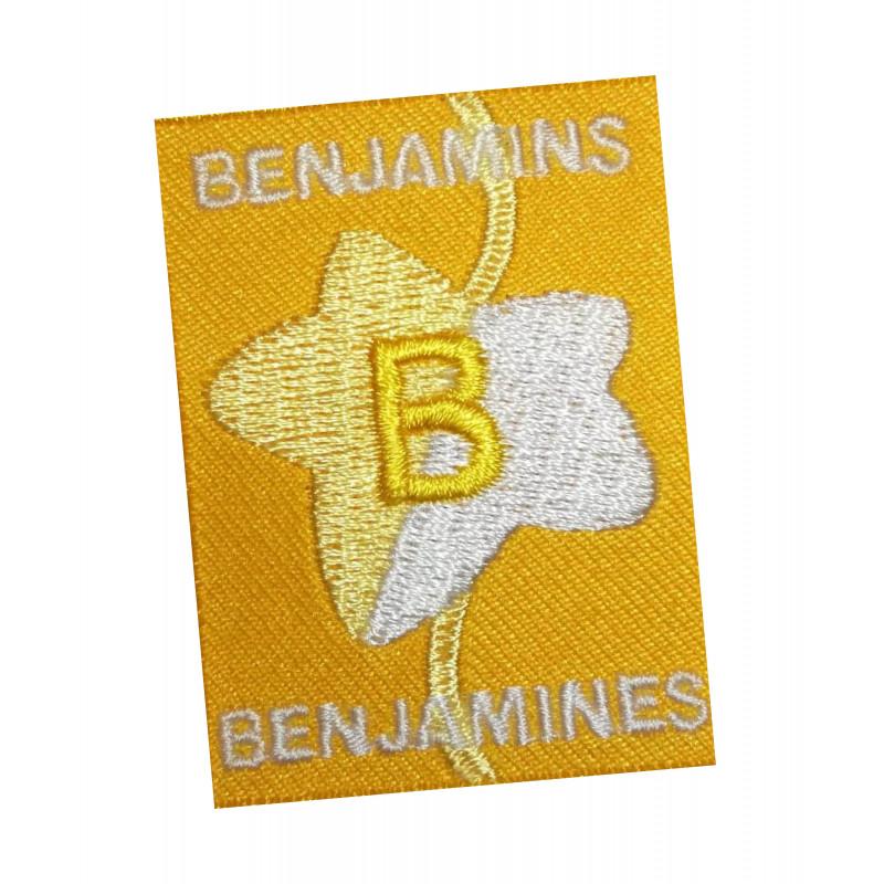 Ecusson BENJAMINS-BENJAMINES