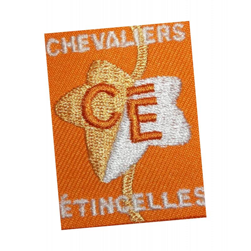 Ecusson CHEVALIERS-ETINCELLES