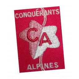 Ecusson CONQUERANTS-ALPINES