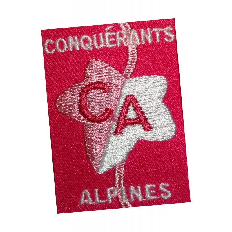 Ecusson CONQUERANTS-ALPINES