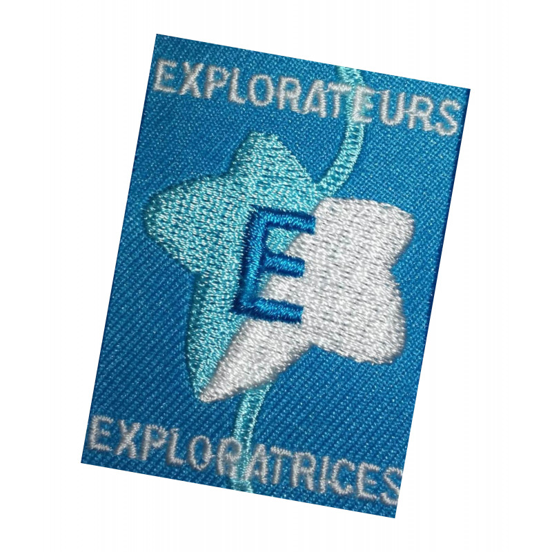Ecusson EXPLORATEURS-EXPLORATRICES